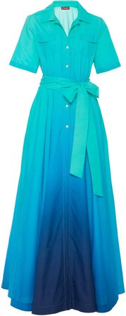 Millie Ombre Nylon Maxi Dress