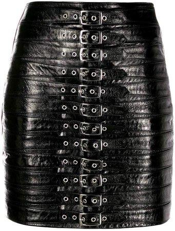 Manokhi Dita buckled mini skirt