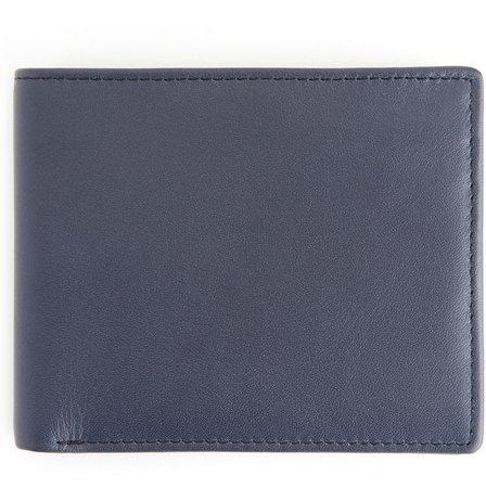 ROYCE RFID Leather Bifold Wallet