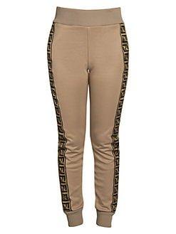 Fendi logo track pants