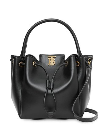 Burberry Monogram Motif Bucket Bag - Farfetch