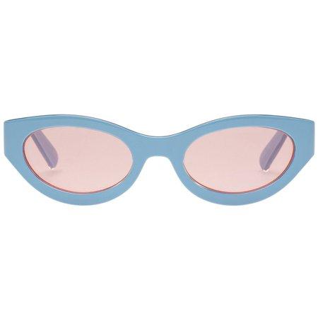 Body Bumpin   Powder Blue Womens Sunglasses – Le Specs