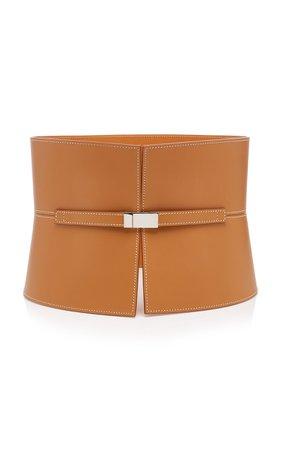 Maison Vaincourt Exclusive Leather Corset Belt