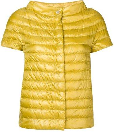 Short-Sleeved Padded Jacket