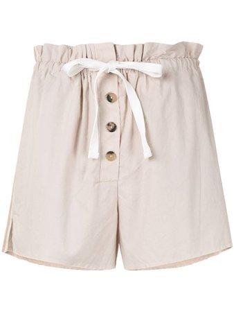 Venroy Drawstring Linen Shorts - Farfetch