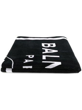Balmain Logo Beach Towel - Farfetch