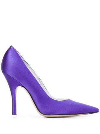 Purple Attico Pointed High Heel Pumps | Farfetch.com
