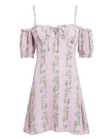 Lily Floral Mini Dress