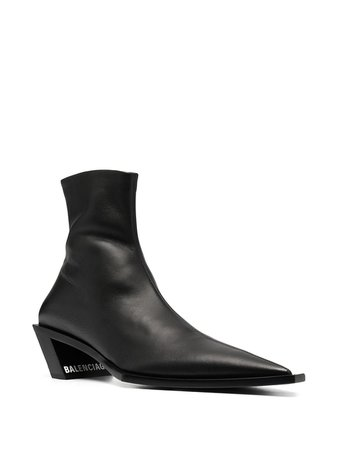 Shop black Balenciaga Tiaga 45mm ankle boots with Express Delivery - Farfetch