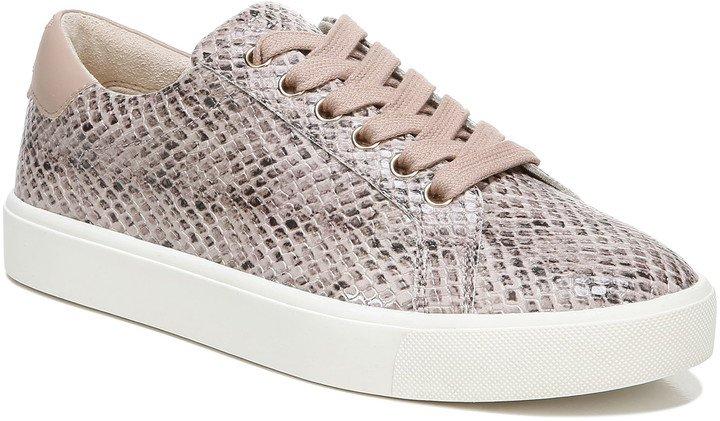 Ethyl Snakeskin Embossed Sneaker