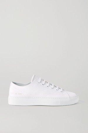 Achilles Canvas Sneakers - White