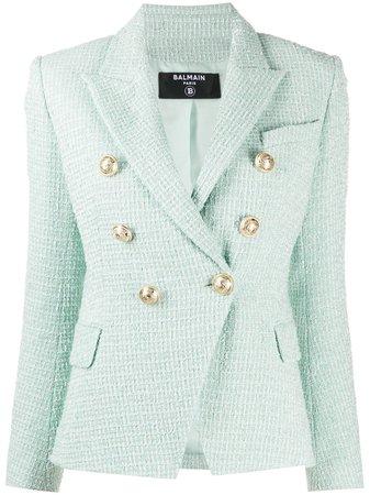 Balmain double-breasted Tweed Jacket - Farfetch