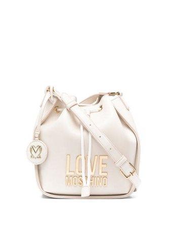 Love Moschino сумка-ведро с логотипом - купить в интернет магазине в Москве | Цены, Фото.