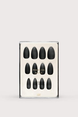 Press-on Nails - Black