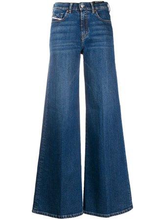 Diesel wide-leg Jeans - Farfetch