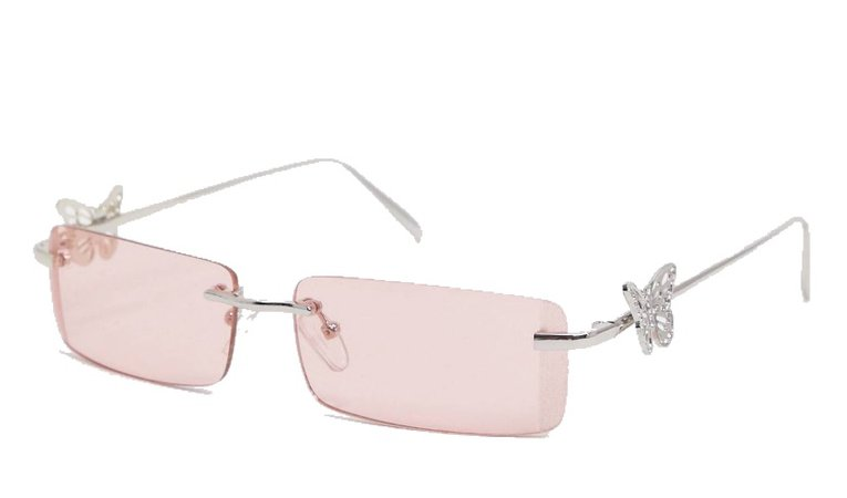 ASOS 90s butterfly sunglasses