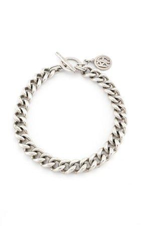 Silver-Tone Metal Chain Necklace By Ben-Amun | Moda Operandi