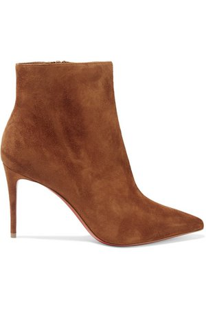 Christian Louboutin | So Kate Booty 85 suede ankle boots | NET-A-PORTER.COM