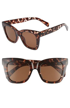 Quay Australia After Hours 50mm Square Sunglasses | Nordstrom