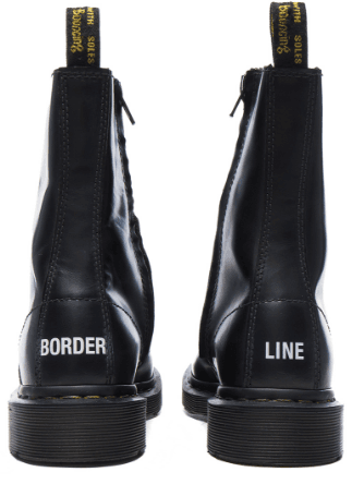 "Vetements X Doc Marten's ""BORDER LINE"" Boots"