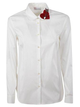 RED Valentino Popeline Shirt