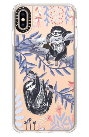 Casetify Two Sloths X/XS, XS Max & XR iPhone Case | Nordstrom
