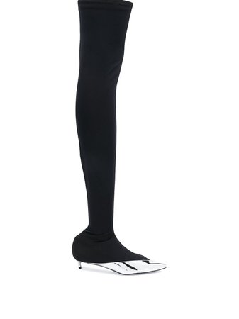 Givenchy over-the-knee boots - FARFETCH