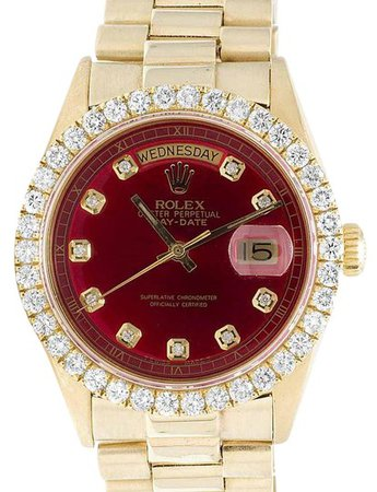 rolex-yellow-gold-red-mens-president-18k-day-date-36mm-diamond-ct-watch-0-1-540-540.jpg (414×540)