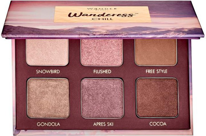 Wander Beauty - Wanderess Chill Eyeshadow Palette