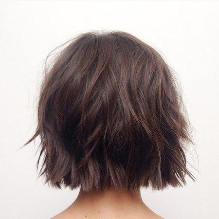 Short Brunette Hair
