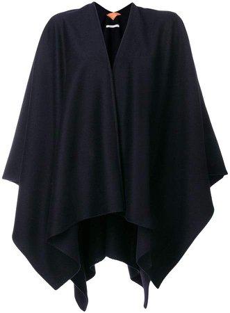Ermanno Gallamini V-neck cape jacket