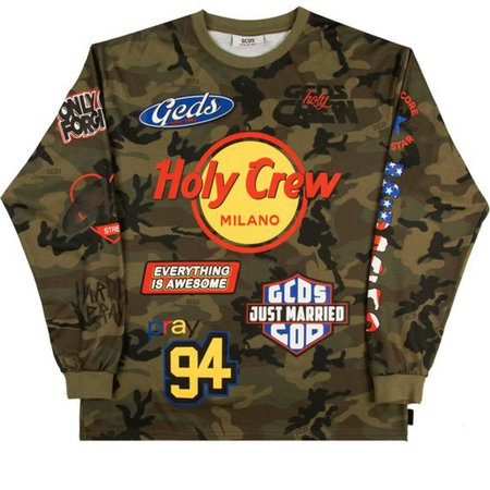 HOLY CREW Nascar Long Sleeved Tee