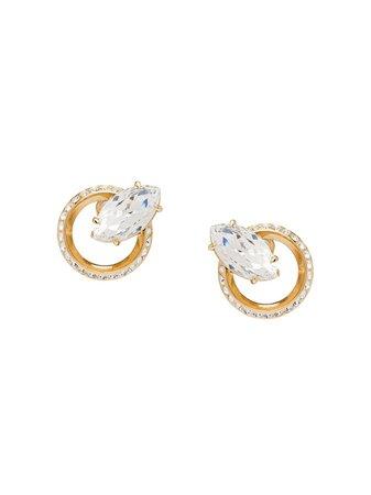 Miu Miu New Crystal Jewels Earrings | Farfetch.com