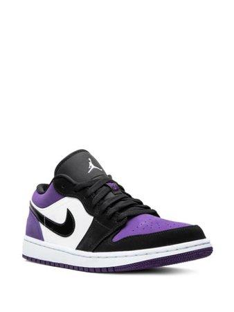 Air Jordan 1 Low-Top Sneakers 553558125 Purple | Farfetch
