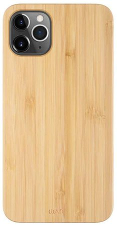 Amazon.com: iATO Wood Case for iPhone 12 Pro. Unique & Classy Open Top & Bottom Minimalistic Real Natural Bamboo Wood Case Designed for iPhone 12 Pro. Wooden Case Compatible with New 2020 iPhone 12 Pro 6.1-inch