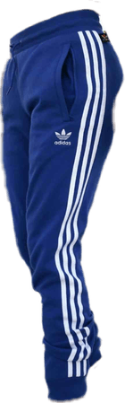 clothes aesthetic adidas tumblr blue pants...