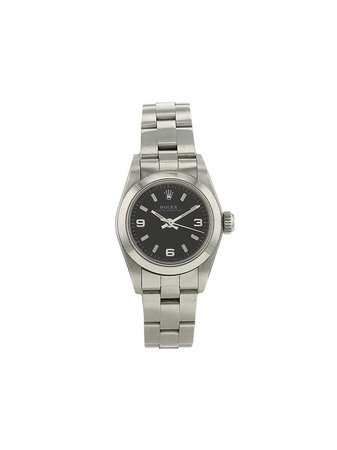 Rolex 1995 pre-owned Oyster Perpetual Lady 25mm - Farfetch
