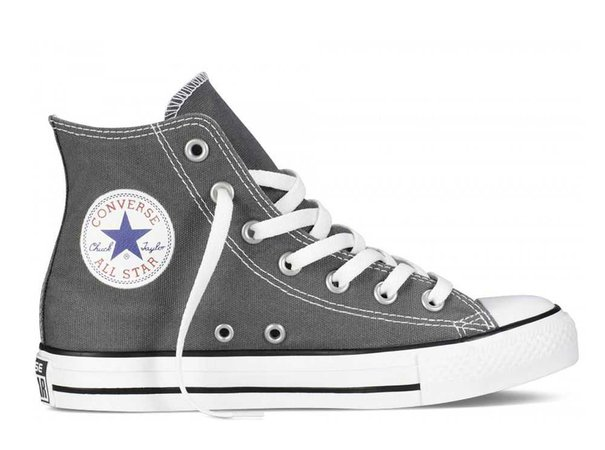 Charcoal Grey Converse (high-tops)