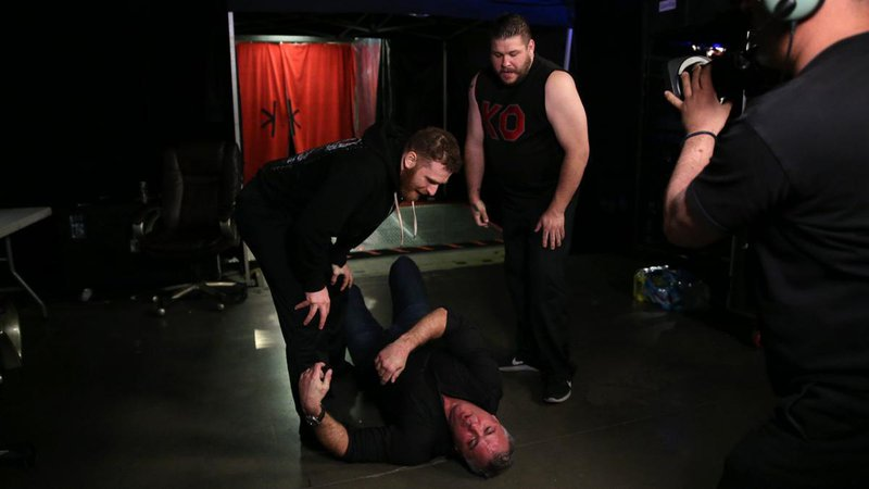 Shane mcmahon smackdown attacked - Google Search