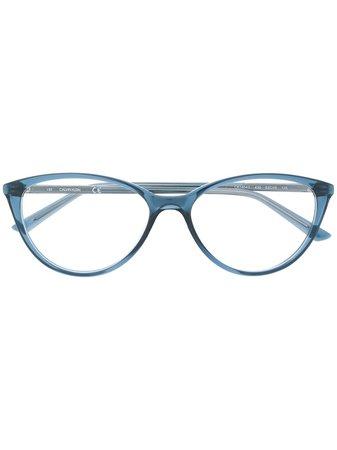 Calvin Klein Armação De Óculos Gatinho Com Logo - Farfetch