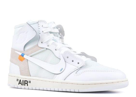 "Nike Air jordan 1 x off-white nrg ""off white"""
