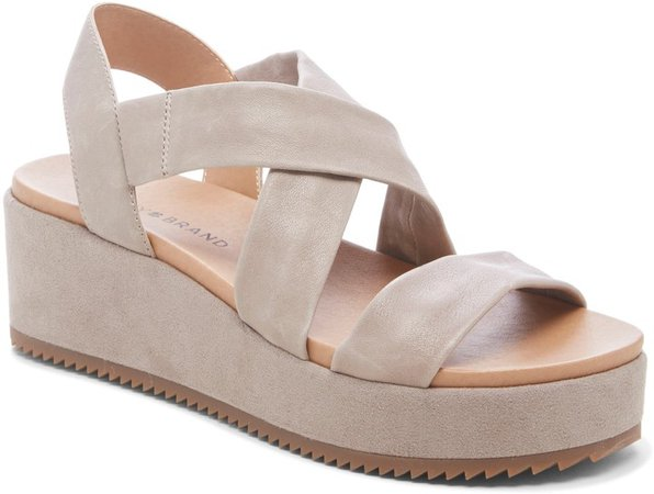 Waldyna Wedge Platform Sandal