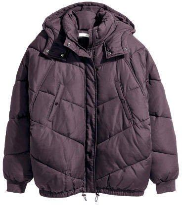 Padded Jacket - Purple