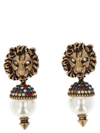 Gucci lionhead Earrings
