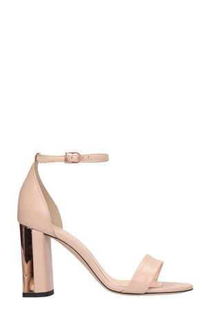 Marc Ellis Pink Leather Sandals