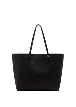 MANGO Knot shopper bag