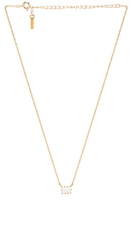 Natalie B Jewelry Grace Necklace in Gold   REVOLVE