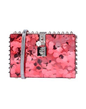 Dolce & Gabbana Pink Glitter Handbag
