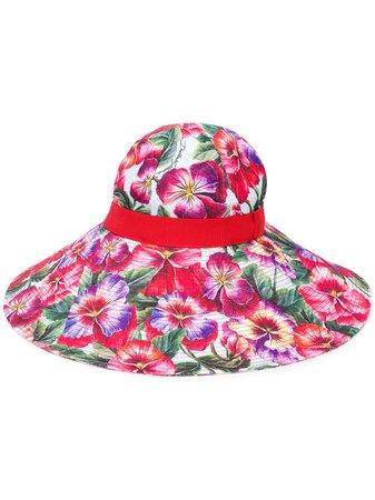 Dolce & Gabbana Wide Brim Sun Hat - Farfetch