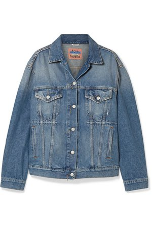 Acne Studios | 2000 oversized denim jacket | NET-A-PORTER.COM